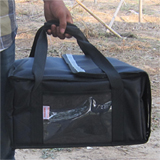 PK-29V: Durable, reliable and insulated pizza delivery bags, pizza take out bags, 15