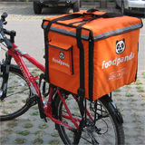 PK-64C: Food delivery boxes for keep hot, cake delivery bag, Foodpanda bike bags, 16