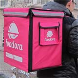 PK-65D: Insulated food carrier, catering food delivery bags, foodora suitable backpacks, 16