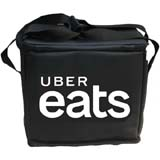 PK-32U: Insulated food carrier with logo printed for free, just eat food delivery bags, 14
