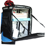 PK-96Z: Hot food delivery backpack for biker, heavy duty food carrier thermal bag, 16
