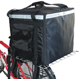 PK-140Z: Large backpack with bicycle motorbike straps, big pizza delivery bags, 20